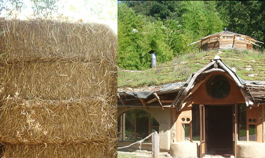 Strawbale building Mas Franch Spain*