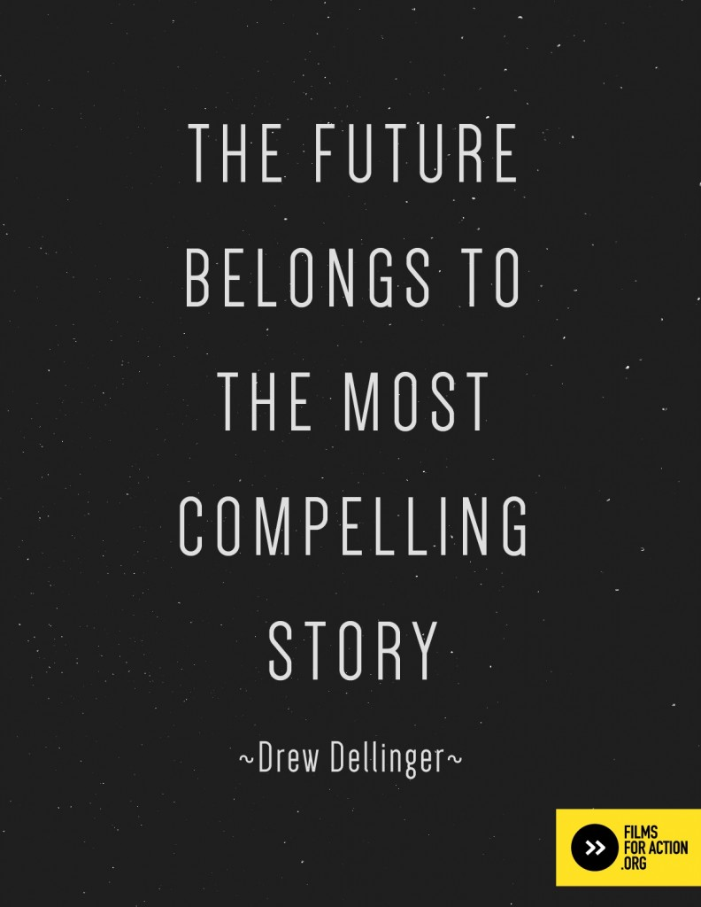 the future belongs to the most compelling story