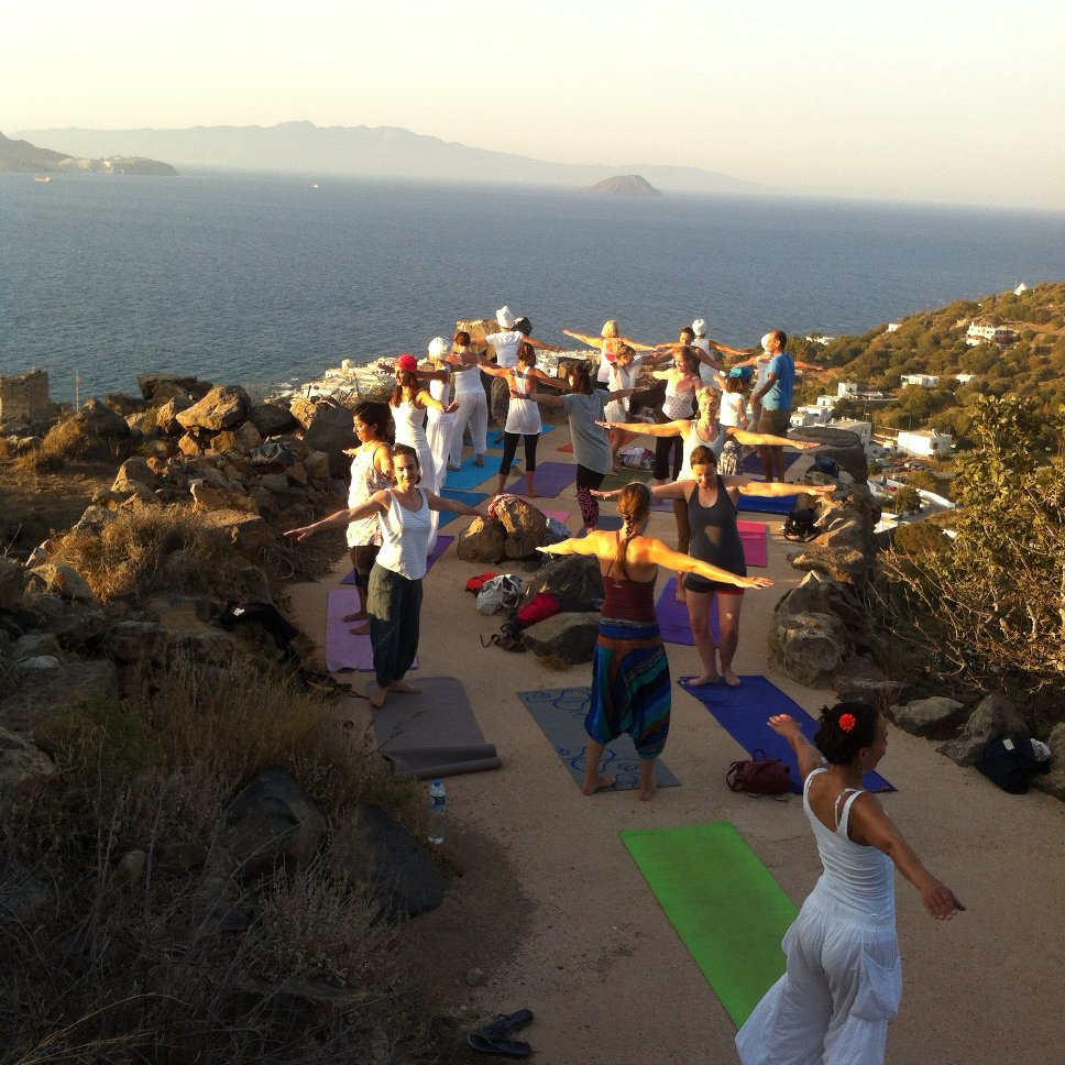 yoga in nisyros